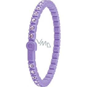 Ops! Objects Tennis Bracelet náramek OPSTEW-07 fialová