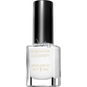 Max Factor Glossfinity lak na nehty 10 Show White 11 ml