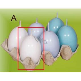 Lima Vajíčko s vůní svíčka bílá 40 x 60 mm 1 kus