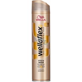 Wella Wellaflex Style&Repair silné zpevnění lak na vlasy 250 ml