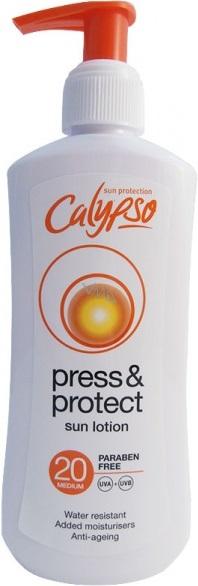 Calypso Press & Protect SPF20 mléko na opalování 200 ml