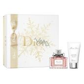 Christian Dior Miss Dior parfémovaná voda pro ženy 50 ml + tělové mléko 50 ml, dárková sada