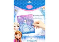 Disney Frozen Elsa kreativní sada na zdobení flitry, krajka