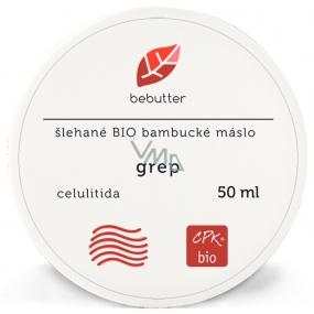 Aromatica Bebutter Bio Grep šlehané bambucké máslo proti celulitidě na zpevnění těla 50 ml