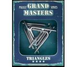 Albi Grand Masters kovový hlavolam - Triangles 4/4