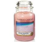 Yankee Candle Pink Sands - Růžové písky vonná svíčka Classic velká sklo 623 g