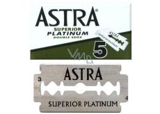 Astra Superior Platinum náhradní žiletky 5 kusů