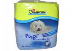 Gimborn Pleny, výchovné podložky pro štěnata silně savé podložky, možno použít do psích záchodů 60 x 60 cm 10 kusů