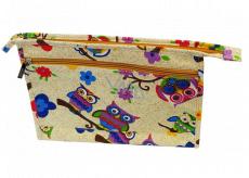 Abella Toaletní kosmetická kabelka 30 x 20,5 x 5,5 cm, vzor krémová NA04