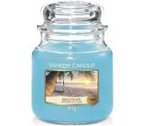 Yankee Candle Beach Escape - Únik na pláž vonná svíčka Classic střední sklo 411 g