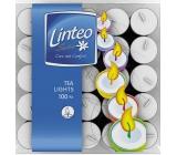 Linteo čajová svíčka v plechu 100 kusů