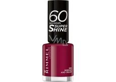 Rimmel London 60 Seconds Super Shine Nail Polish lak na nehty 340 Berries And Cream 8 ml