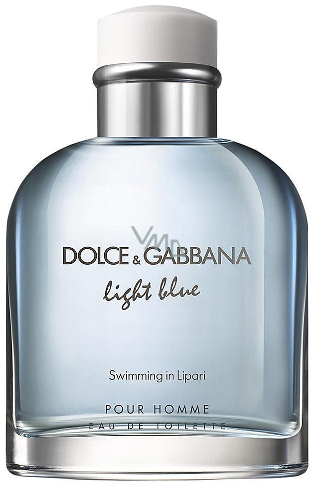 Dolce & Gabbana Light Blue Swimming in Lipari toaletní voda pro muže 125 ml Tester