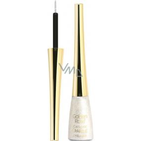 Golden Rose Extreme Sparkle Eyeliner oční linky 01 stříbrné 5,5 ml