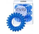 Invisibobble Navy Blue Sada Gumička do vlasů modrá spirálová 3 ks