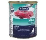 Dr. Clauders Wild Zvěřina kompletní superprémiové krmivo pro dospělé psy 96% masa 800 g
