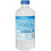 Kittfort Destilovaná voda na technické účely 1 l