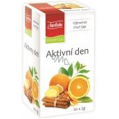 Apotheke Natur Aktivní den ovocný čaj 20 x 2 g