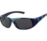 Dudes & Dudettes Sluneční brýle pro děti modré maskáčové DD12000