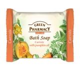 Green Pharmacy Mrkev a Dýňový olej toaletní mýdlo 100 g