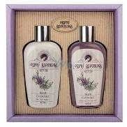 Bohemia Gifts & Cosmetics První republika Levandule tělové mléko 200 ml + sprchový gel 200 ml, kosmetická sada