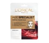 Loreal Paris Age Specialist 45+ zpevňující textilní maska 30 g