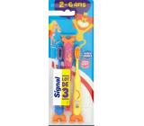 Signal Kids měkký zubní kartáček pro děti 3 kusy