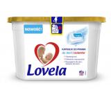 Lovela Baby Bílé i barevné Hypoalergenní gelové kapsle na praní 12 kusů