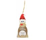 English Tea Shop Bio Rooibos Čokoládový a vanilka vánoční figurka Rudolf 2 g, 1 kus