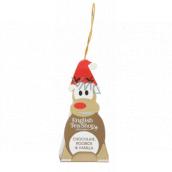 English Tea Shop Bio Rooibos Čokoláda a Vanilka vánoční figurka Rudolf 2 g, 1 kus