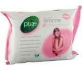 Pure Intimate Feminine intimní ubrousky 25 ks