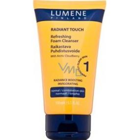 Lumene Radiant Touch Refreshing Foam Cleanser osvěžující čisticí pěna 150 ml