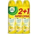 Air Wick Citron a Ženšen 4v1 osvěžovač vzduchu sprej 3 x 240 ml