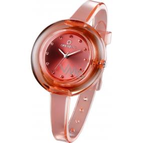Ops! Objects Nude Watches hodinky OPSPW-63 meruňková
