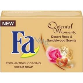 Fa Oriental Moments Desert Rose & Sandalwood Scents toaletní mýdlo 100 g