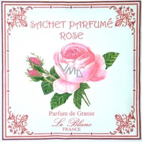 Le Blanc Rose Vonný sáček Růže 11 x 11 cm 8 g