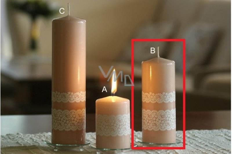 Lima Krajka svíčka terakota válec 60 x 150 mm 1 kus