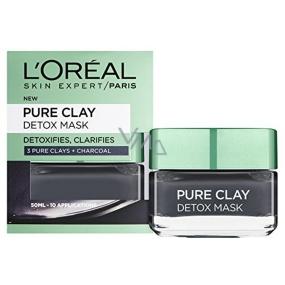 Loreal Paris Pure Clay Detox Mask Intenzivní čisticí pleťová maska 50 ml