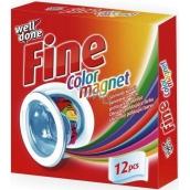 Well Done Fine Color Magnet ubrousky do praní pohlcující barvu 12 kusů