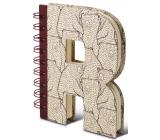 If Alphabooks Note Books Zápisník ve tvaru písmena R 91 x 14 x 124 mm