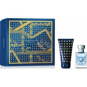 Versace pour Homme toaletní voda pro muže 30 ml + sprchový gel 50 ml, dárková sada