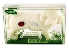 Kappus Pejsek toaletní mýdlo v atraktivní, průhledné krabičce 50 g