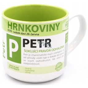 Nekupto Hrnkoviny Hrnek se jménem Petr 0,4 litru