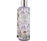 Bohemia Gifts Botanica Levandule s olivovým olejem, extraktem bylin a jogurtovou aktivní složkou koupelová pěna 250 ml