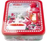 Liran Vánoční balení černých, zelených, bílých čajů Lampa 6 x 20 x 1,5 g, dárková sada