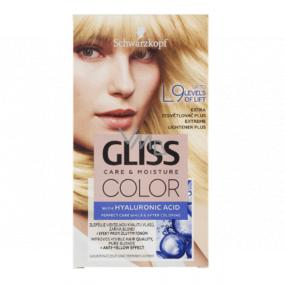 Schwarzkopf Gliss Color barva na vlasy L9 Extra zesvětlovač plus 2 x 60 ml