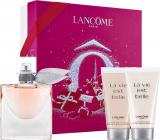 Lancome La Vie Est Belle parfémovaná voda pro ženy 50 ml + sprchový gel 50 ml + tělové mléko 50 ml, dárková sada