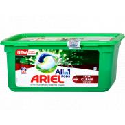Ariel All in 1 Pods Extra Clean Power gelové kapsle univerzální na praní 30 kusů 816 g