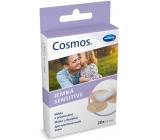 Cosmos Sensitive jemná náplast na rány na citlivé kůži 19 x 72 mm 20 kusů