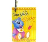 Nekupto Dárková kartička Pro Vaše děťátko 7 x 5,5 cm 1 kus, K29 006